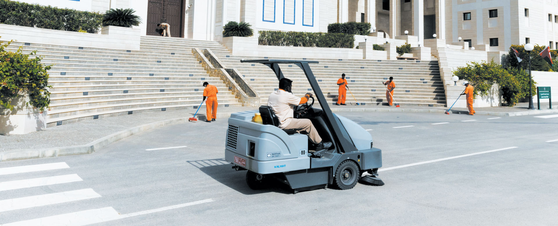 MECHANIZED CLEANING